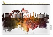 skyline of Las Vegas Nevada United States Carry-all Pouch
