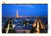 Skyline Of Paris Carry-all Pouch