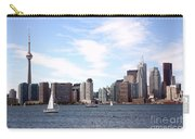 Skyline Of Toronto Ontario Carry-all Pouch
