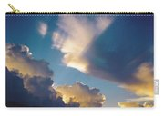 Skyscape - Puffy White Clouds Carry-all Pouch