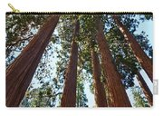 Skyscrapers - A Grove Of Giant Sequoia Trees In Sequoia National Park In California Carry-all Pouch by Jamie Pham