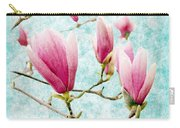 Skyward Magnolia Painterly 4 Carry-all Pouch