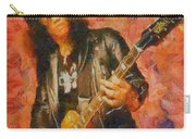 Slash Shredding On Guitar Carry-all Pouch