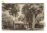Slave Quarters Sepia Carry-all Pouch