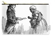 Slavery: Manumission, 1777 Carry-all Pouch by Granger