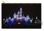 Sleeping Beauties Castle At Christmas Carry-all Pouch