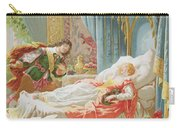Sleeping Beauty And Prince Charming Carry-all Pouch
