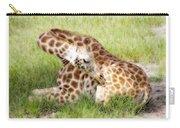 Sleeping Giraffe Carry-all Pouch