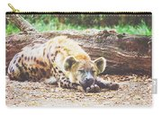 Sleeping Hyena Carry-all Pouch