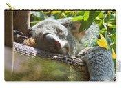 Sleeping Koala Carry-all Pouch