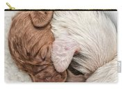 Sleeping Puppies Carry-all Pouch