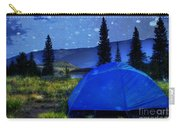 Sleeping Under The Stars Carry-all Pouch by Juli Scalzi