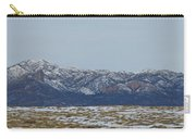 Sleeping Ute Mountain Carry-all Pouch