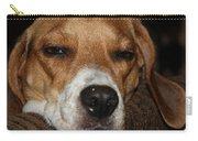 Sleepy Beagle Carry-all Pouch