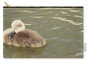 Sleepy Cygnet Carry-all Pouch
