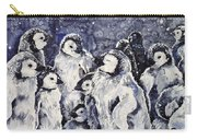 Sleepy Penguins Carry-all Pouch