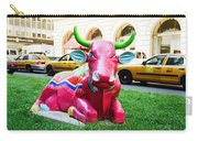 Cow Parade N Y C 2000 - Sleepy Time Cow Carry-all Pouch
