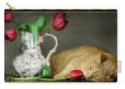 Sleepy Tulips Carry-all Pouch