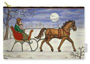 Sleigh Ride With Grandpa Carry-all Pouch