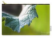Slice Of Leaf Carry-all Pouch by John Wadleigh