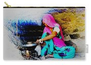 Slice Of Life Mud Oven Chulha Tandoor Indian Village Rajasthani 2 Carry-all Pouch