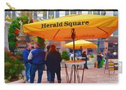 Slice Of Life Nyc-herald Square Carry-all Pouch