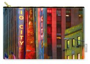 Slice Of Life Nyc-holiday Hustle Carry-all Pouch