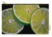 Sliced Limes Carry-all Pouch