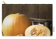Slicing Pumpkins Carry-all Pouch