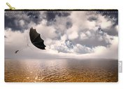 Slight Chance Of A Breeze Carry-all Pouch by Bob Orsillo