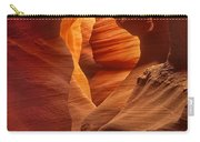 Slot Canyon Detail Corkscrew Or Upper Antelope Slot Canyon Arizona Carry-all Pouch