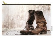 Slouch Cowboy Boots Carry-all Pouch