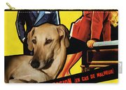 Sloughi Art - Love Is My Profession Movie Poster Carry-all Pouch