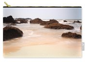 Slow Shutter Sea Around Rocks Carry-all Pouch