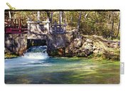 Sluice Gate At Alley Spring Carry-all Pouch