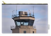 Small Air Traffic Control Tower Man Behind Glass Carry-all Pouch