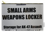 Small Arms Signage Russian Submarine Carry-all Pouch