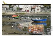 Small Boats And Seagulls In Galicia Carry-all Pouch
