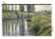 Small Branch Of The Seine At Argenteuil Carry-all Pouch