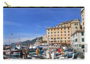 small harbor in Camogli. Italy Carry-all Pouch
