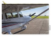 Small Plane In Private Airport Carry-all Pouch