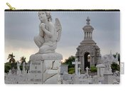 Small Praying Angel And Chapel Carry-all Pouch