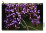 Small Purple Flowers On A Verbena Plant Carry-all Pouch