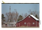 Small Red Barn With Windmill Carry-all Pouch