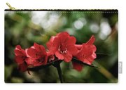 Small Red Flowers Carry-all Pouch