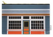 Small Store Front Entrance Colorful Wooden House Carry-all Pouch