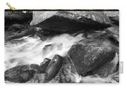 Small Stream Smoky Mountains Bw Carry-all Pouch