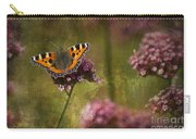 Small Tortoiseshell Butterfly Carry-all Pouch