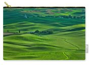 Small Town In The Lush Green Hills Carry-all Pouch