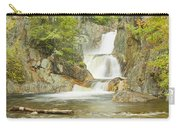Smalls Falls In Western Maine Panorama Carry-all Pouch
